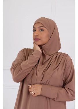 Prayer abaya - Moka