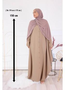 Abaya Sourour 150 cm - Camel