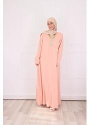 Abaya Orient - peach