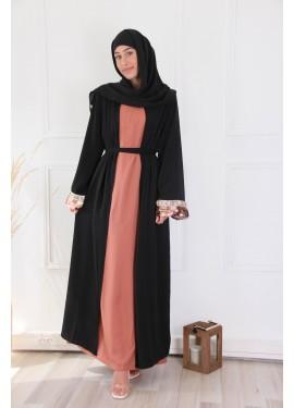 Kimono Hafida - Noir