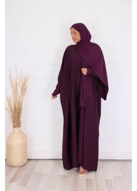 Abaya HAWA - purple