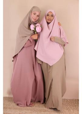 Khimar short medina silk -...