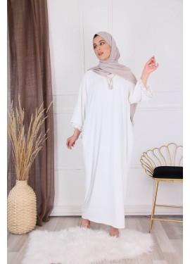 Arabic dress - White