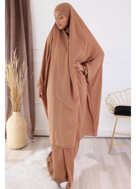 Jilbab 2 pieces - Camel