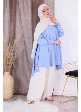 Oversized shirt - sky blue