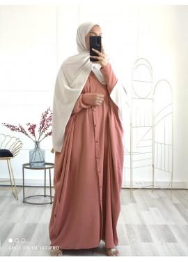 Abaya Sourour 140 cm - Abricot
