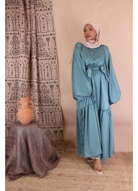 Lina dress - Teal blue