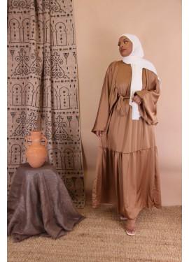 Lina dress - Moka