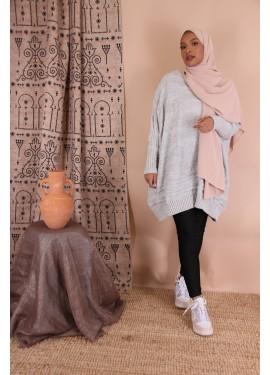 Oversize sweater - Light gray
