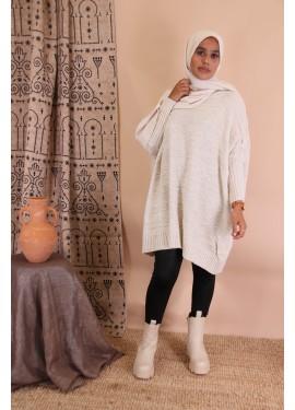 Oversize sweater - Beige