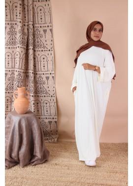 Abaya Aya - White
