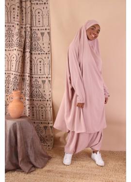 Jilbeb saroual - Powdery pink