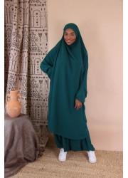 Jilbeb saroual - Emerald green